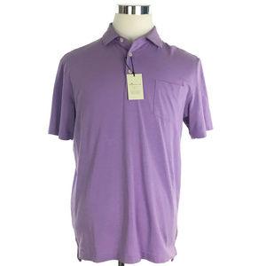 Peter Millar Polo Small Lilac Purple Seaside Wash